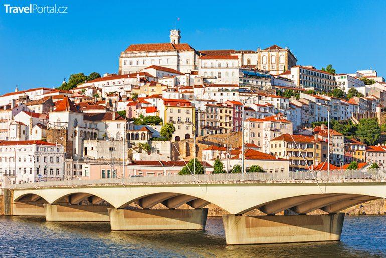 portugalské město Coimbra