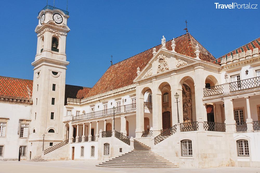 univerzita ve městě Coimbra