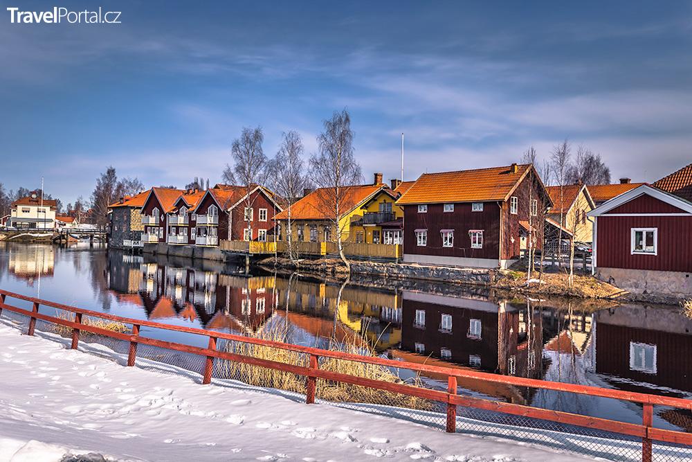 švédské městečko Falun