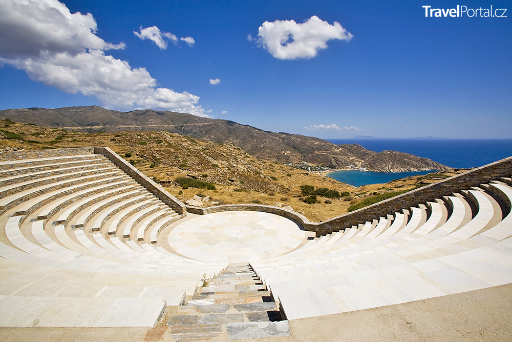 amfiteátr na ostrově Ios
