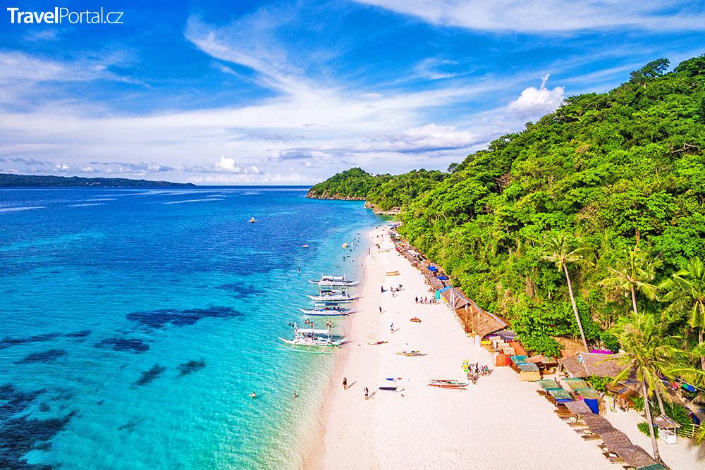 ostrov Boracay na Filipínách