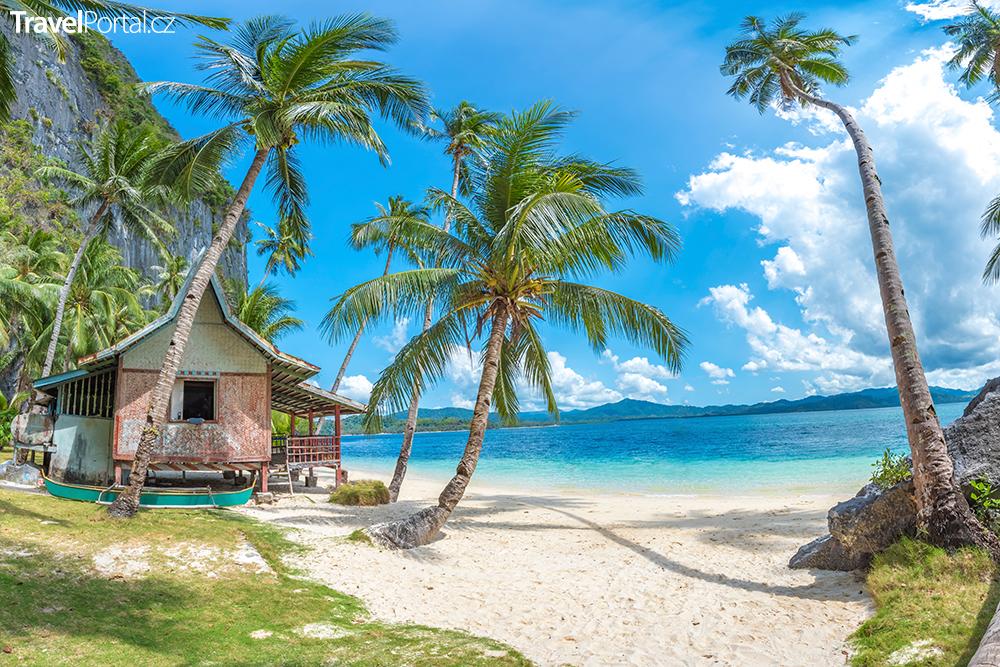 ostrov Palawan na Filipínách