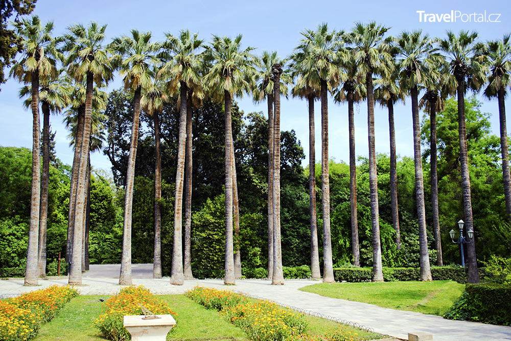 Královská zahrada v Athénách
