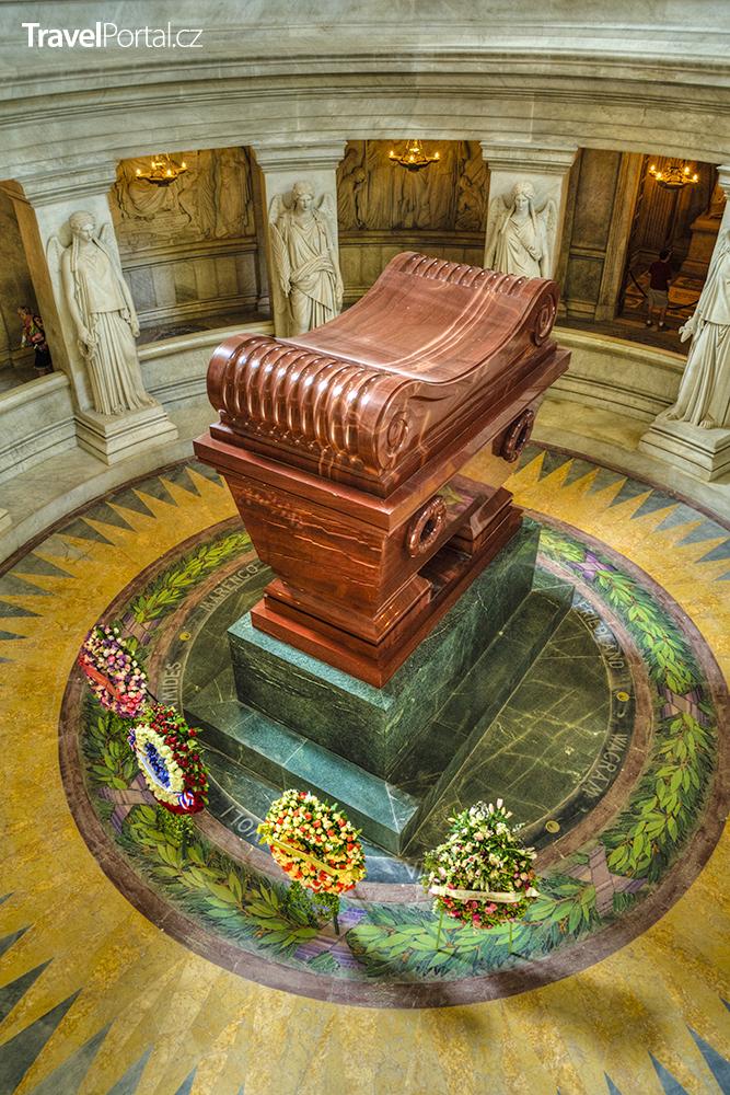 Napoleonova hrobka v Invalidovně
