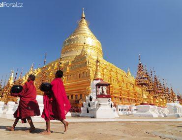 Získat turistické vízum do Myanmaru je od ledna 2020 mnohem snazší! Nezapomeňte navštivit Bagan a prohlédnout si pagodu Shwezigon.
