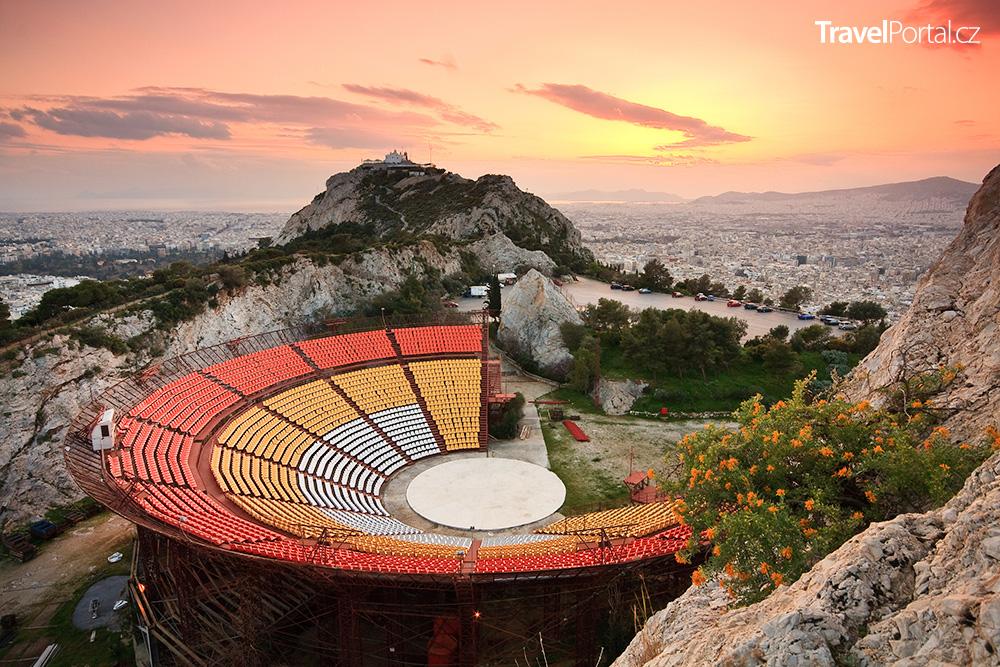 divadlo na vrcholku Lycabettus