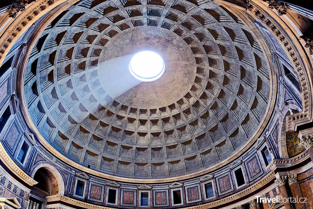 kupole římského Pantheonu