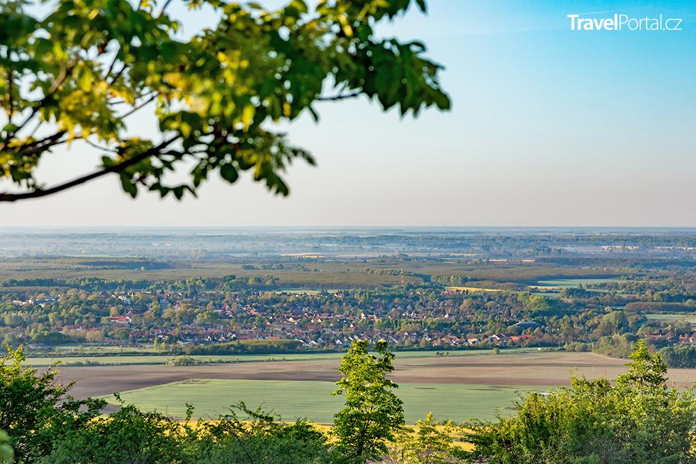 město Harkány na jihu Maďarska