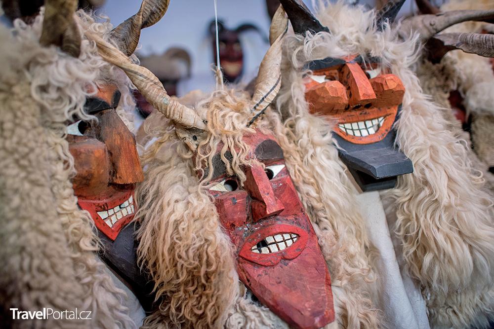 masopustní karneval ve městě Mohács