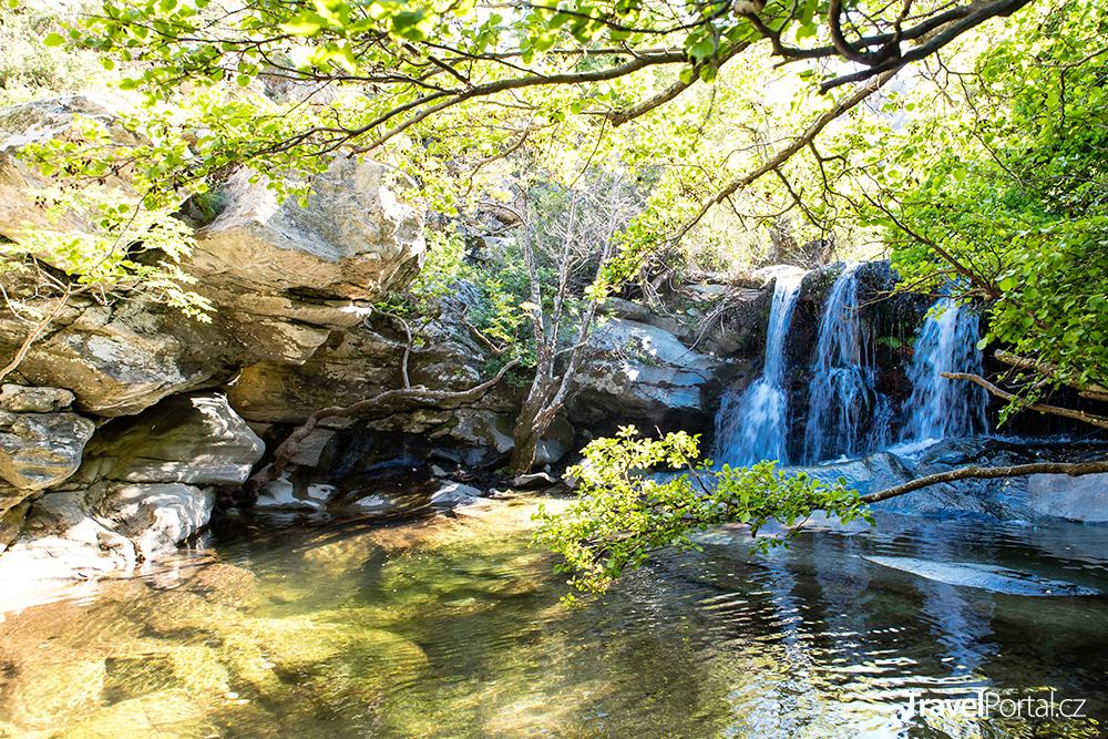vodopády Pithara
