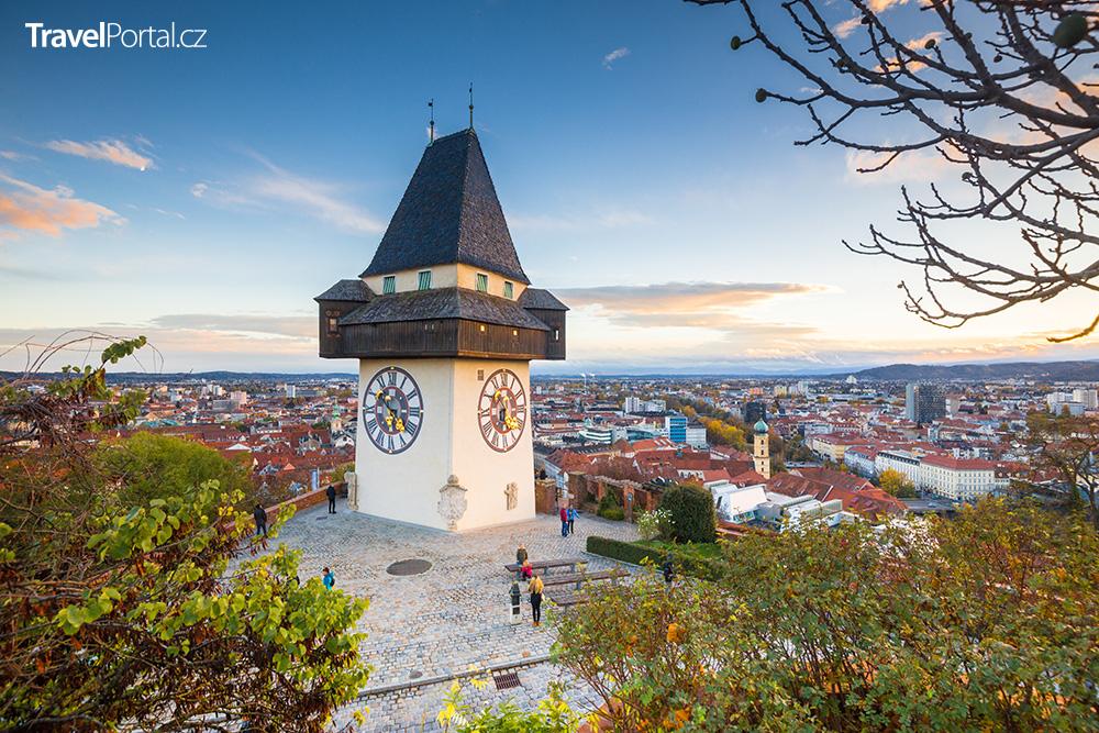 Hodinová věž Grazer Uhrturm