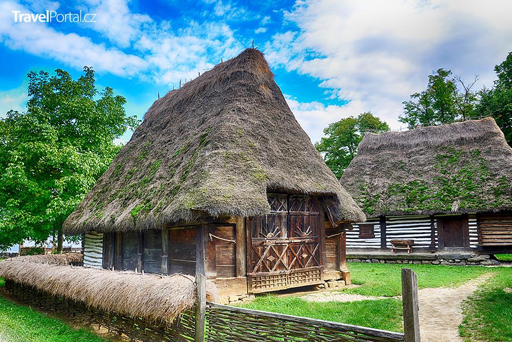 Muzeum vesnice ve městě Bukurešť