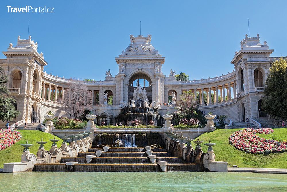 Palais Longchamp v Marseille