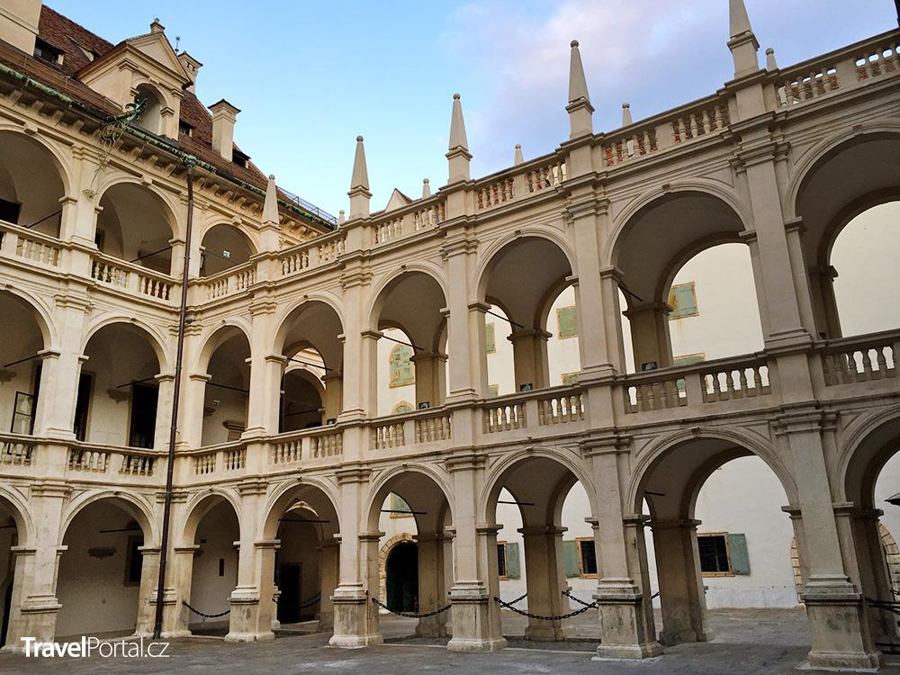 Zemský dům ve městě Graz