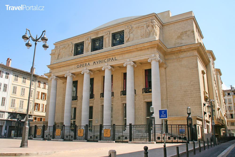 budova opery v Marseille