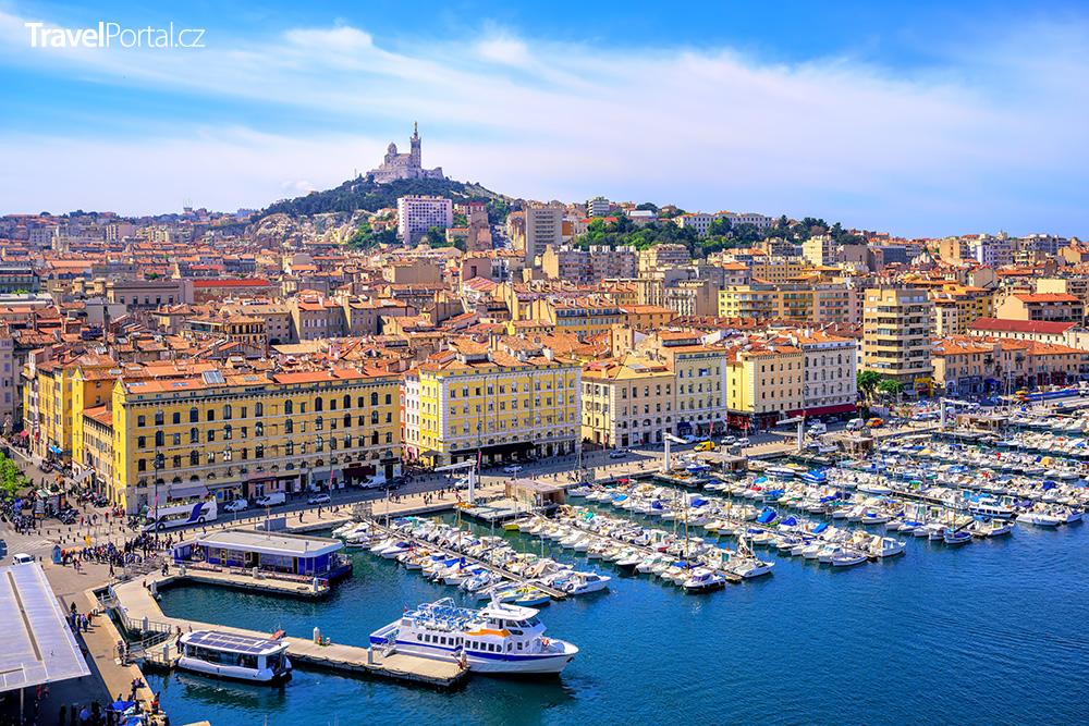 francouzské město Marseille