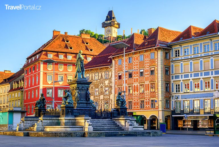 město Graz aneb Štýrský Hradec