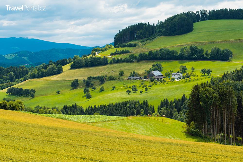 okolí města Graz