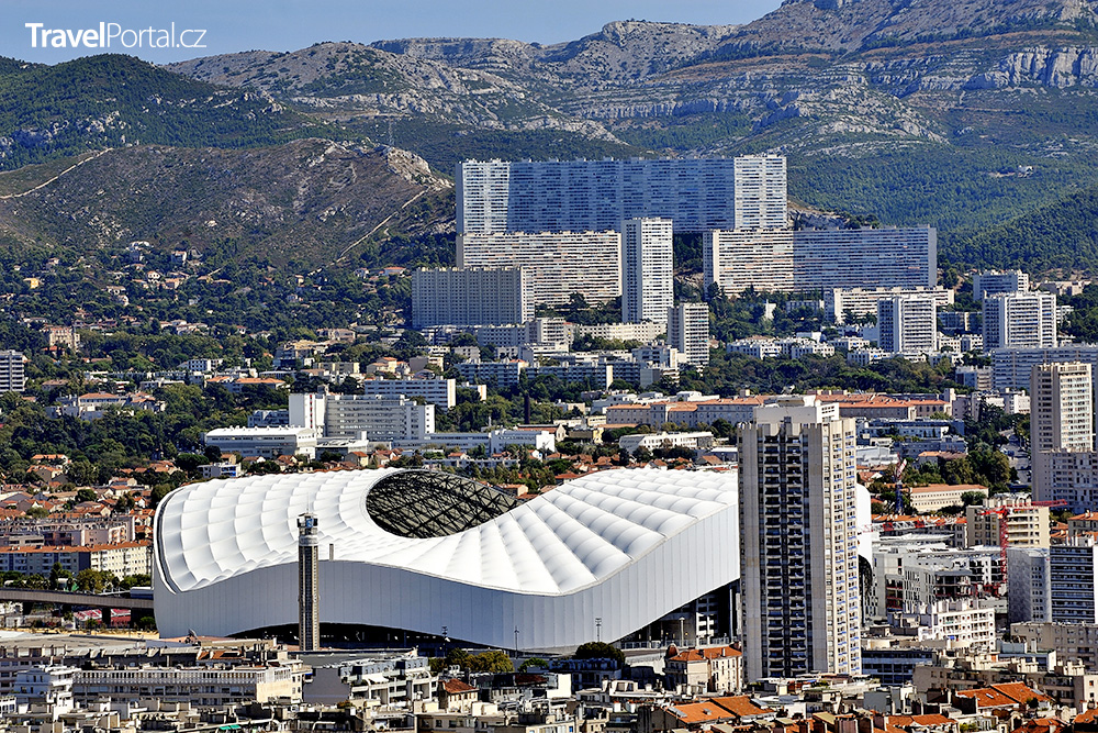 stadion Orange Vélodrome v Marseille