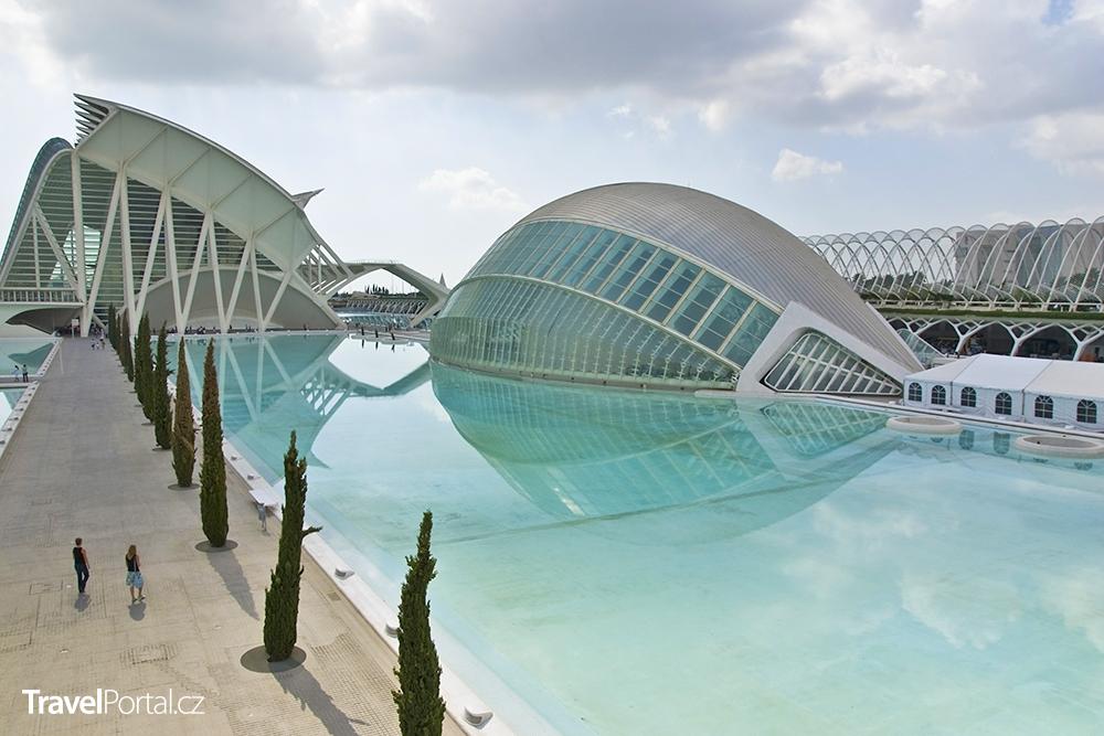 Město umění a věd ve městě Valencie