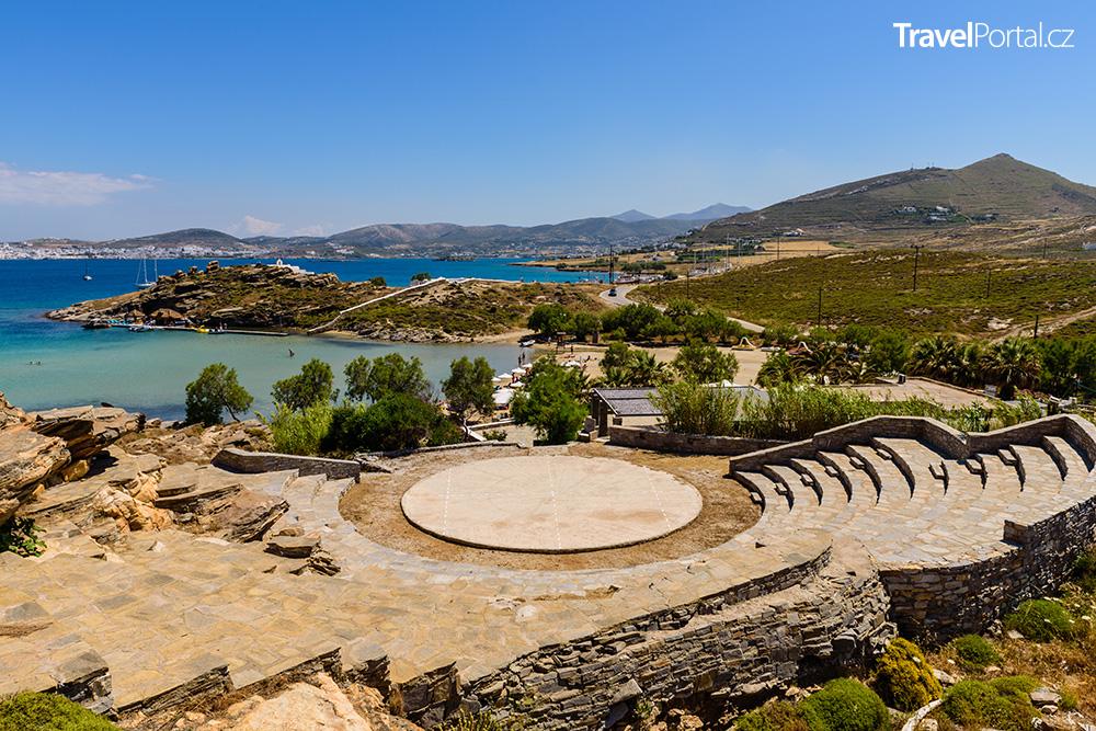 amfiteátr Archilochos na ostrově Paros