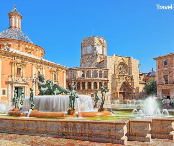 Valencie: Španělské město, jež proslavila hedvábná burza a venkovní soud