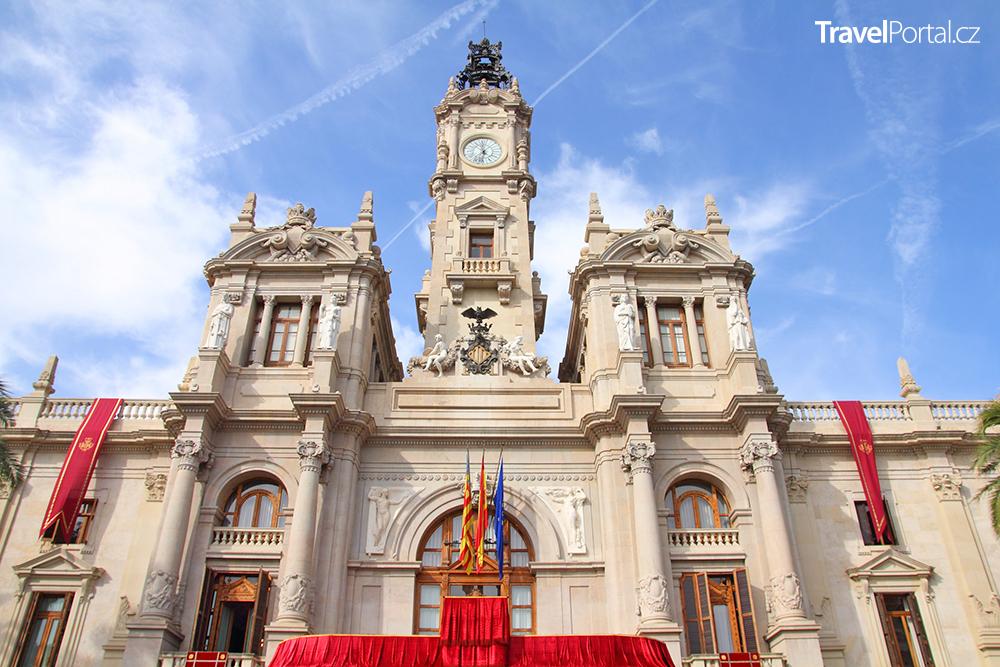 radnice ve městě Valencie
