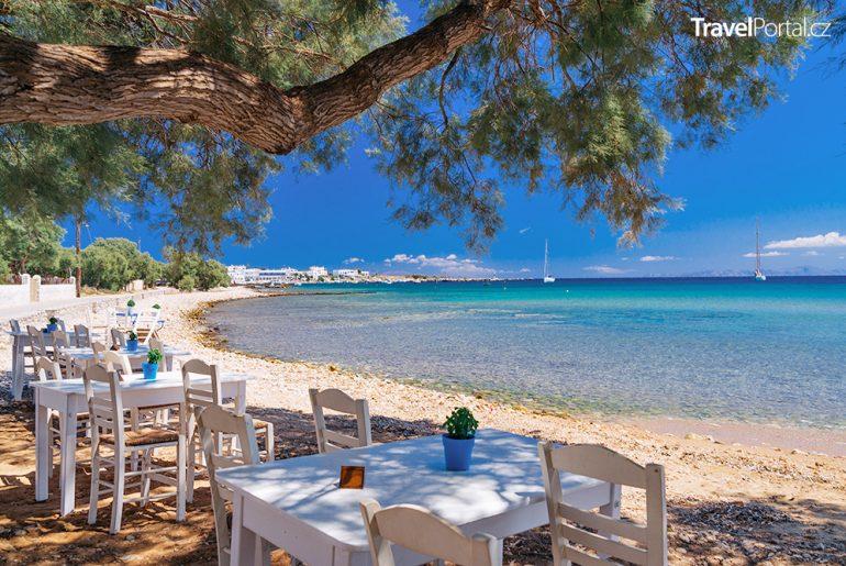 taverna na ostrově Paros