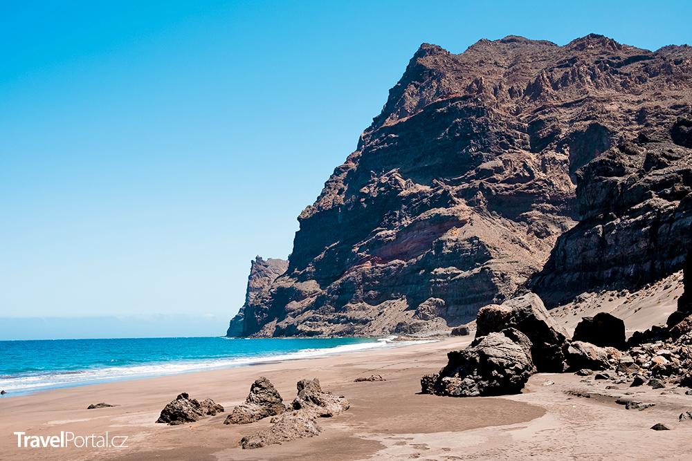 Gui Gui Beach na západě ostrova Gran Canaria