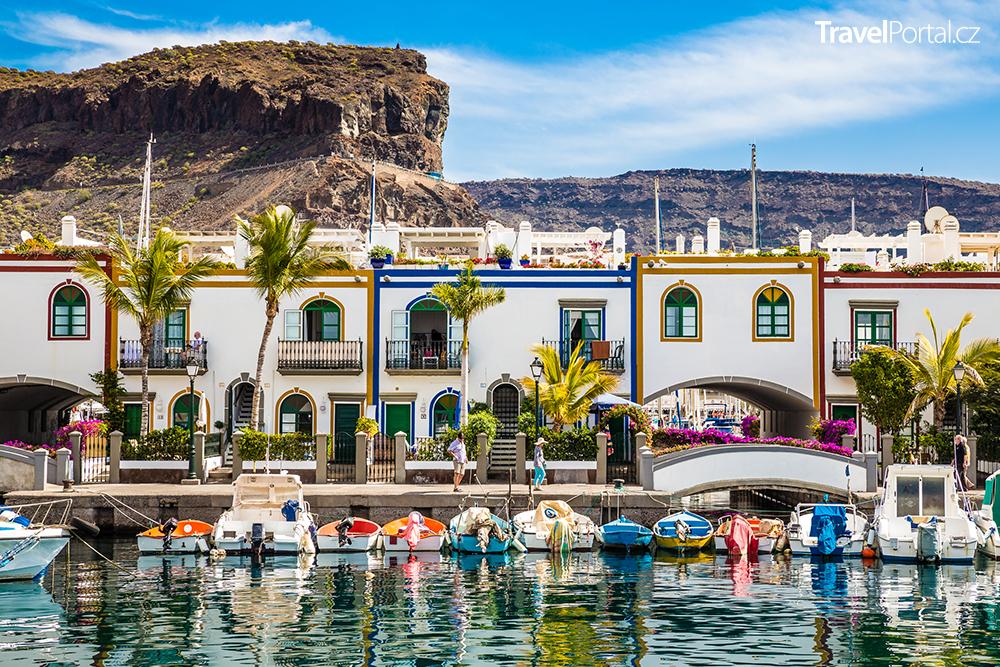 Puerto de Mogan na ostrově Gran Canaria