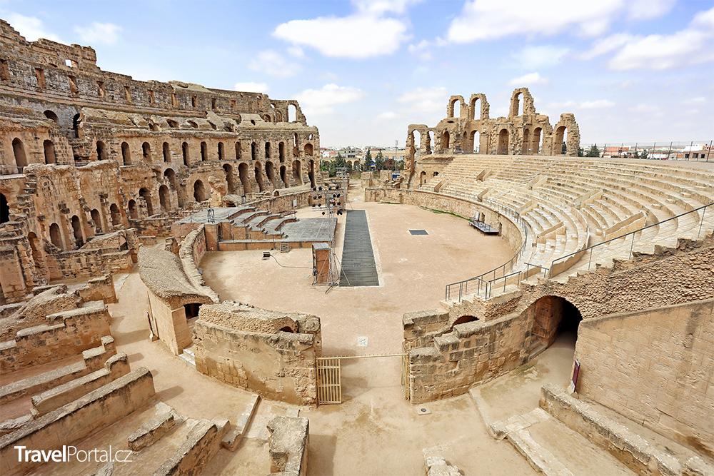 amfiteátr El-Džem v Tunisku