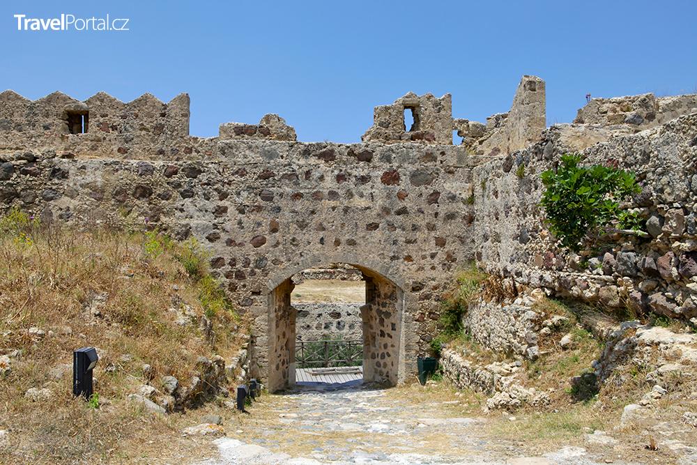 benátský hrad u vesnice Antimachia