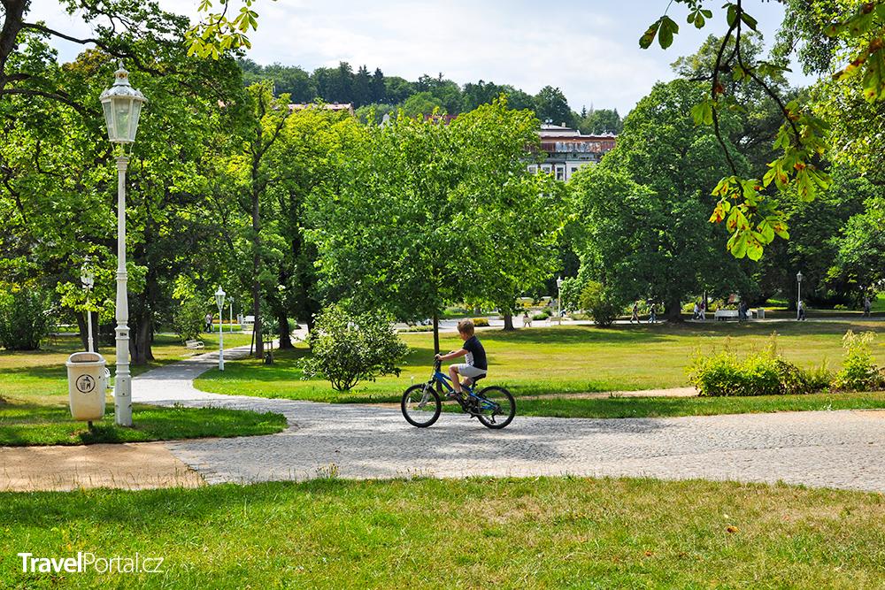 cyklistika ve městě Mariánské Lázně