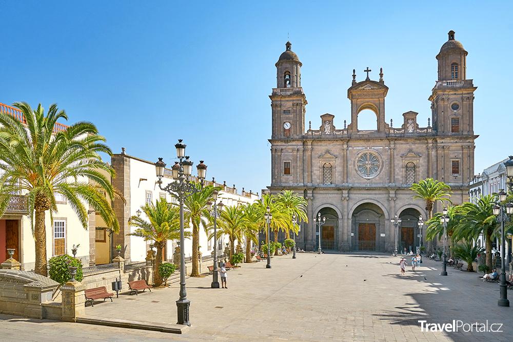 katedrála svaté Anny v Las Palmas de Gran Canaria