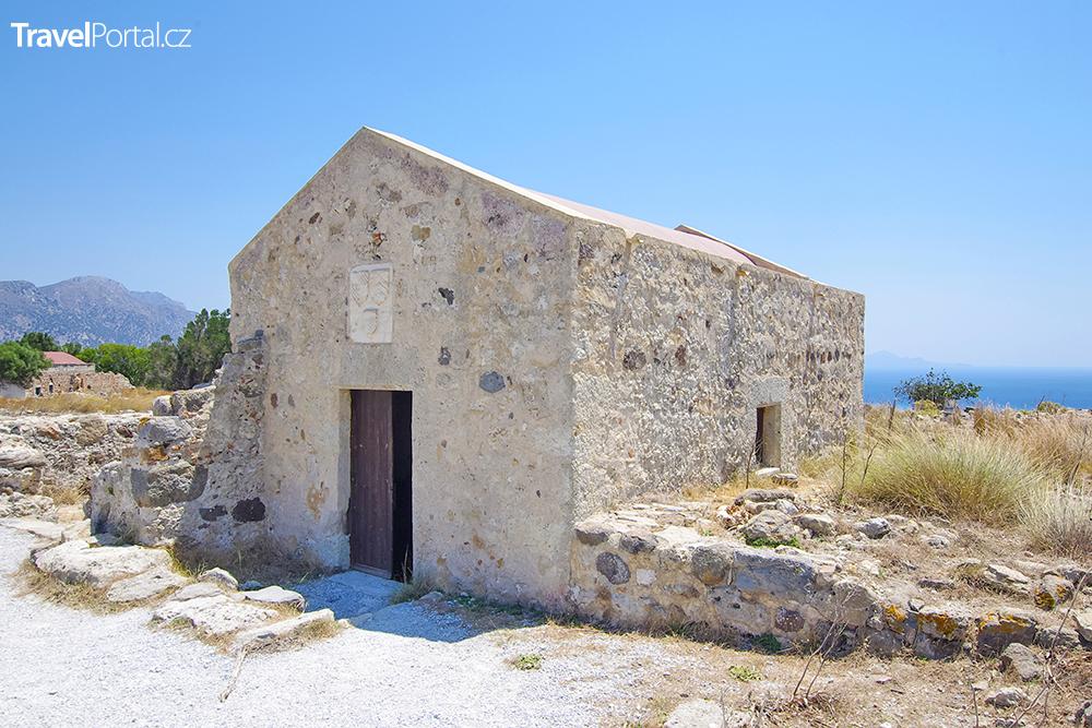 kostel Agios Nikolaos u vesnice Antimachia
