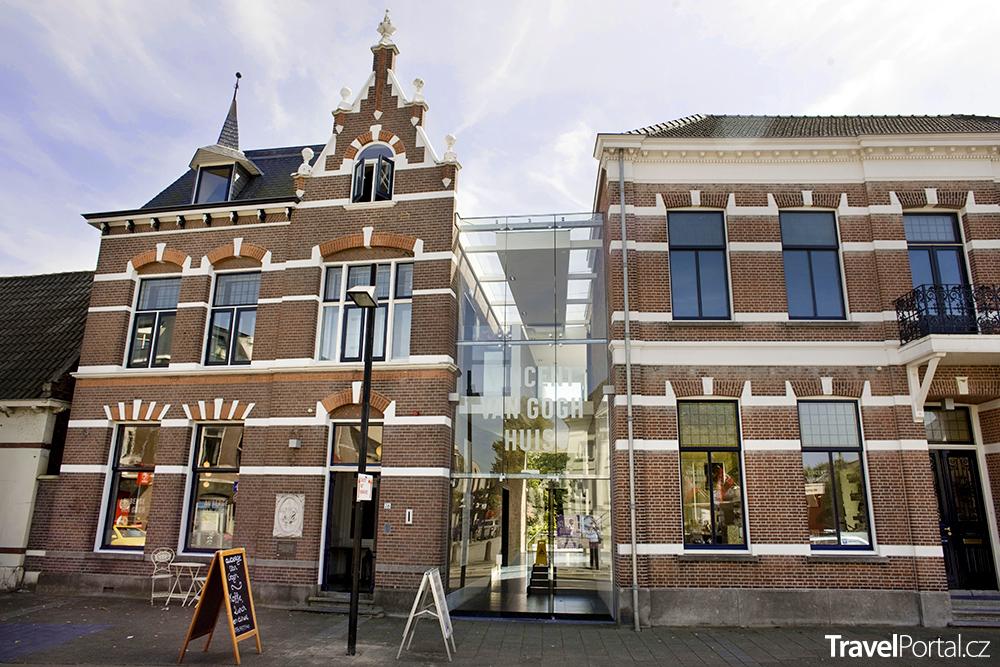 muzeum Vincent van GoghHuis ve městě Zundert