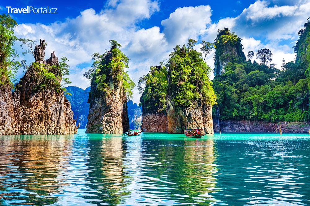 národní park Khao Sok v Thajsku