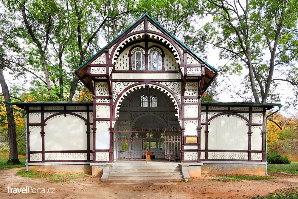 pavilon Rudolfova pramene