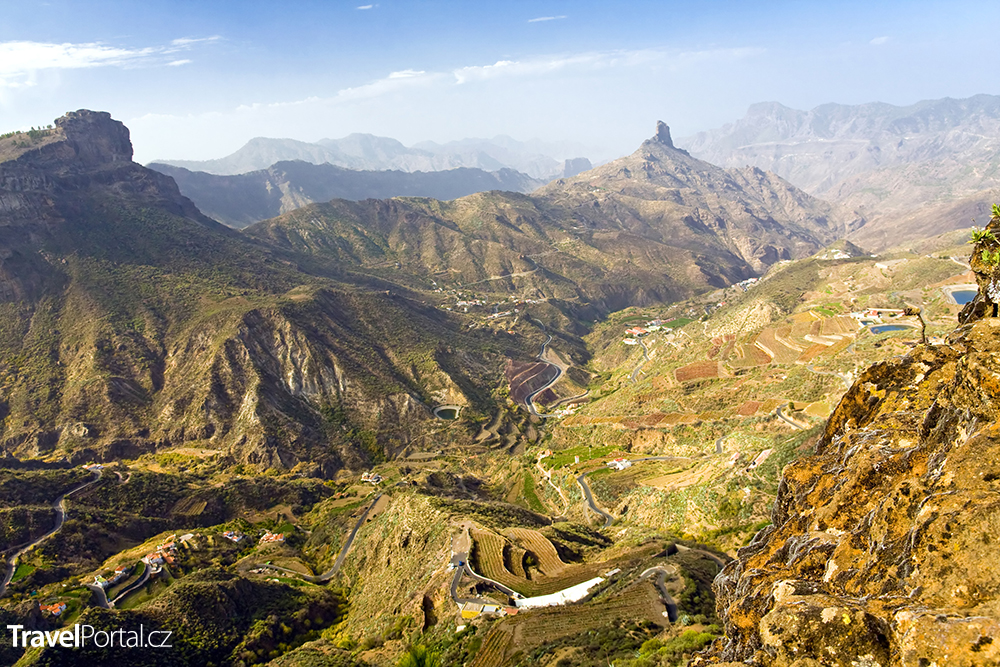 vnitrozemí ostrova Gran Canaria