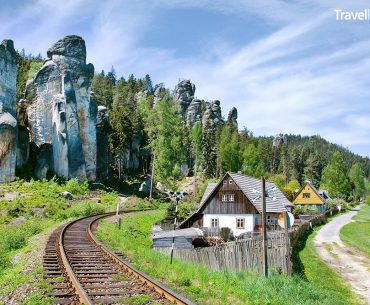 Adršpach v regionu Broumovsko