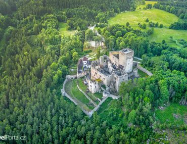 hrad Landštejn a jeho okolí