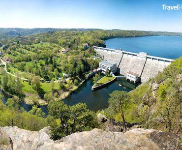 Vranovská přehrada a její hráz