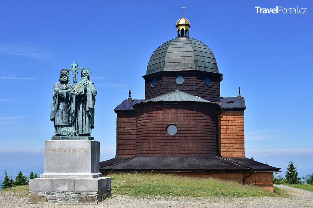 kaple svatého Cyrila a Metoděje na Radhošti