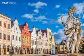 náměstí Zachariáše z Hradce ve městě Telč