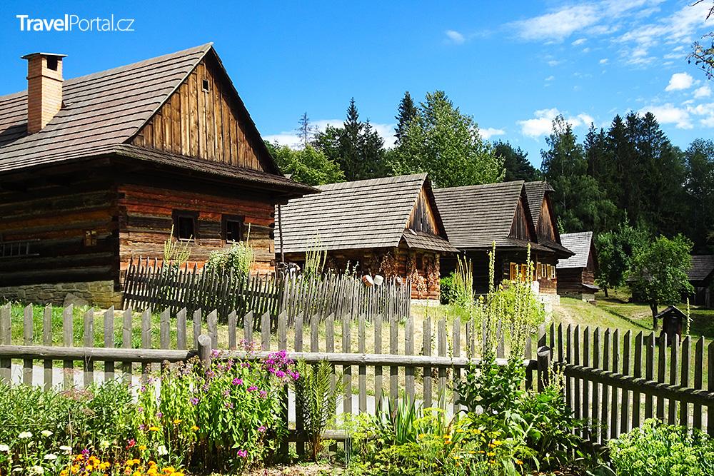 Valašské muzeum v přírodě ve městě Rožnov pod Radhoštěm