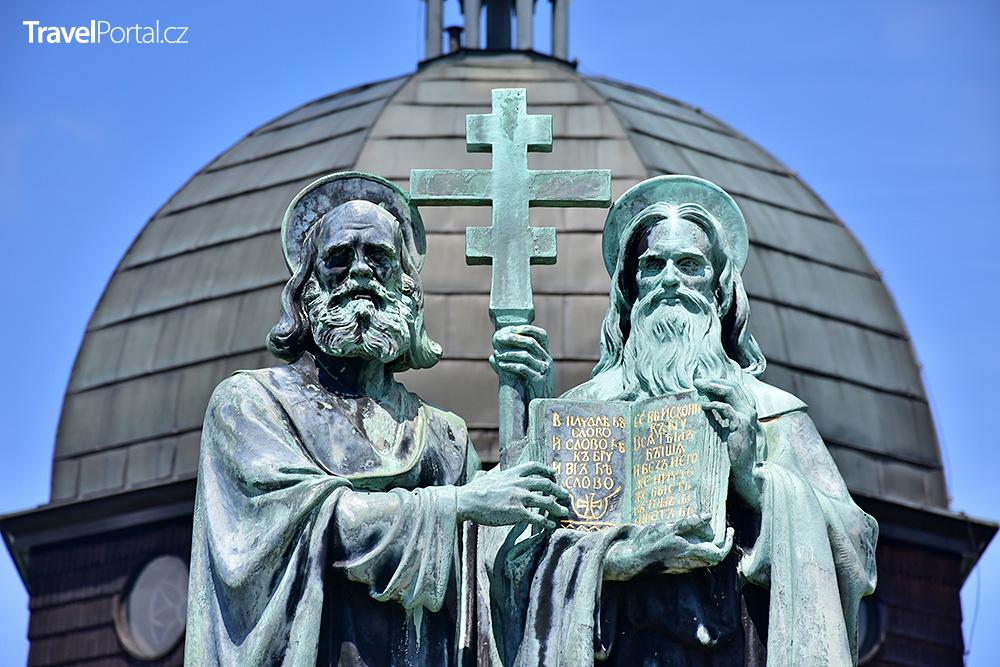 kaple sv. Cyrila a Metoděje na hoře Radhošť