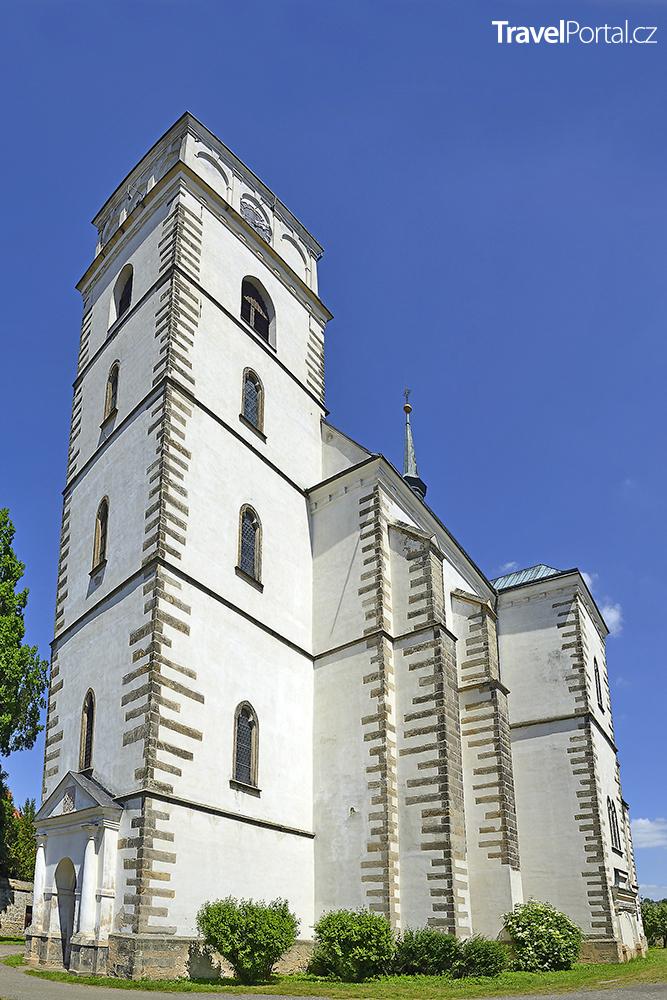 kostel svaté Maří Magdaleny ve městě Sobotka