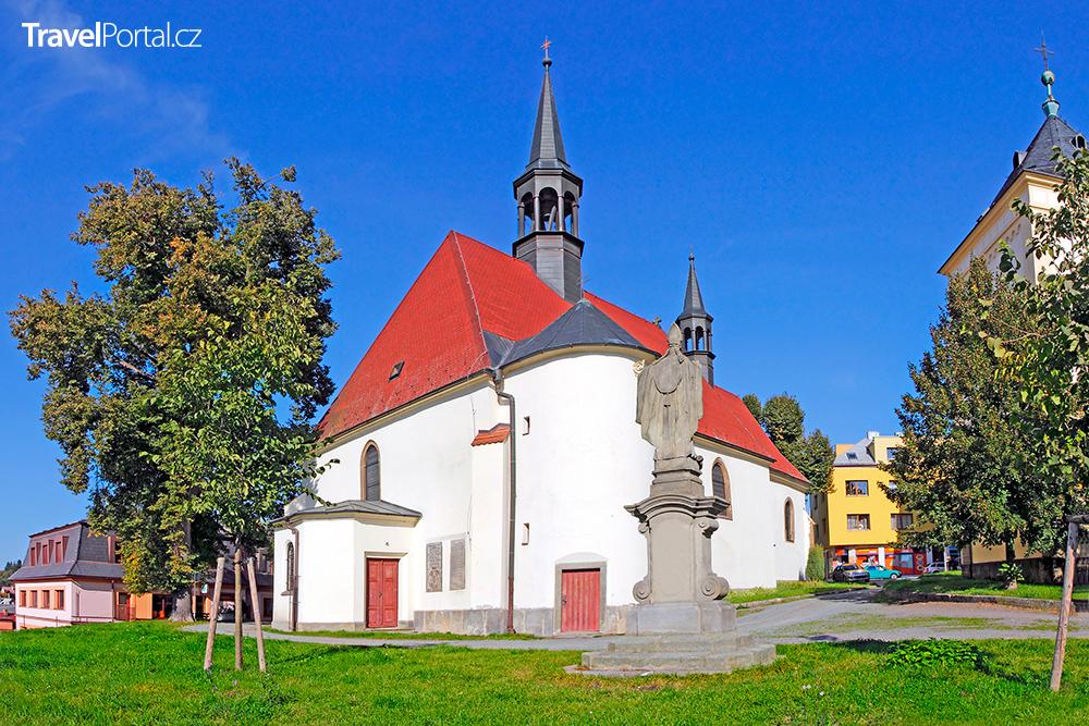 kostel svatého Havla ve městě Rychnov nad Kněžnou