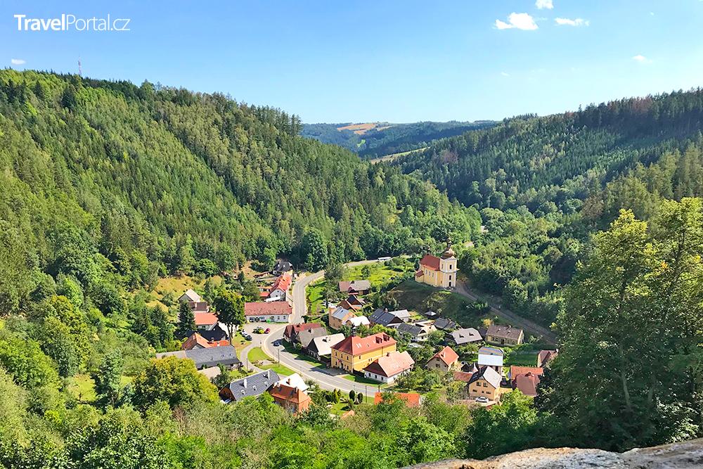 městys Svojanov v okrese Svitavy