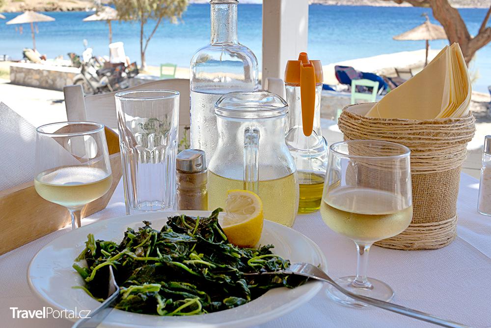 řecký salát chorta